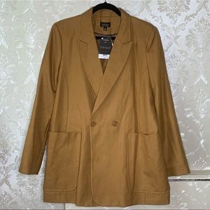 Topshop Jackets & Coats - TOPSHOP Mustard Jacket